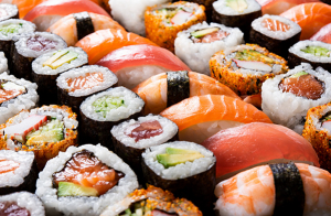 19 piezas de sushi para recoger en el local
