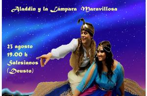 """Espectáculo familiar """"Aladdin y la lámpara mavarillosa""""¡Única función!"""