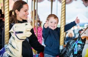 12 viajes en Carrusel Infantil