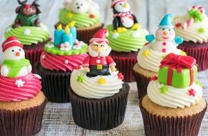 Curso de cupcakes especial Navidad