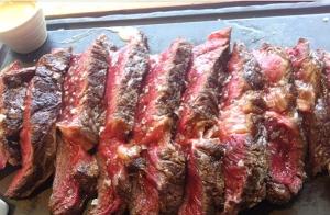 Menú degustación en el Itxas-Berri