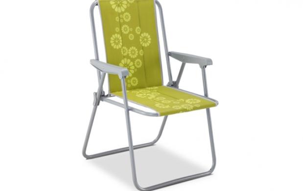 Mesa y silla plegable de camping por 17 oferta con for Oferta sillas plegables