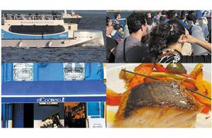 Exclusivo menú para 2 personas + paseo en barco