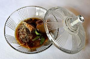 Menú exclusivo en Yandiola