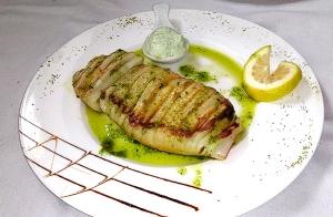 Exquisito menú en Caserío