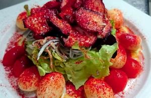 Delicioso menú en Getxo
