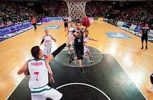 Dominion Bilbao Basket vs. ICL Manresa