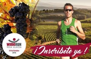 Inscríbete en Rioja Alavesa WineRun 36 Km