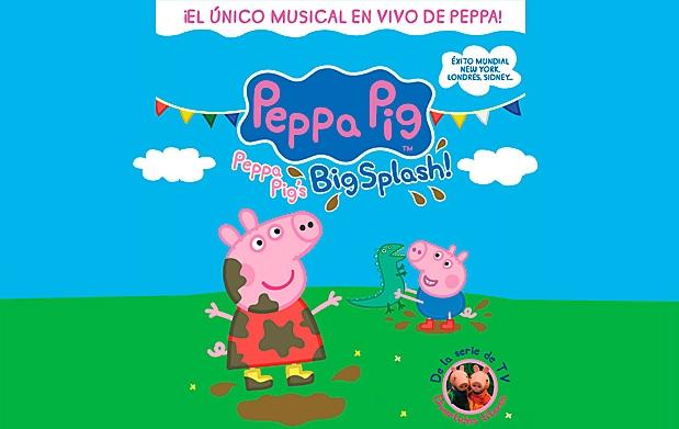 Peppa pig big splash por 17 oferta con descuento 29 for Espectaculo peppa pig uruguay