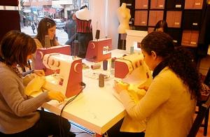 Curso iniciación costura en Bilbao