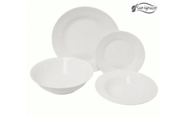 Vajilla porcelana 19 piezas san ignacio descuento 61 29 oferplan oferplan - Ofertas vajillas porcelana ...