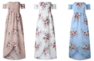 Vestido floral ideal para el verano