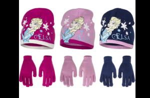 Set de Frozen: gorro + guantes