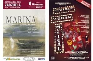 Teatro, zarzuela o musical en Aste Nagusia